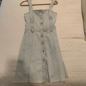 Seven for All Mankind denim dress size: small